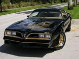 Smokey & the Bandit Trans Am Replica Hire