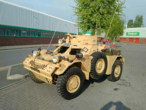 Ferret Armoured recce vehicle